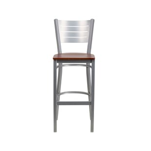 Shop For Evander Bar Stool by Ebern Designs Reviews (2019) & Buyer's Guide