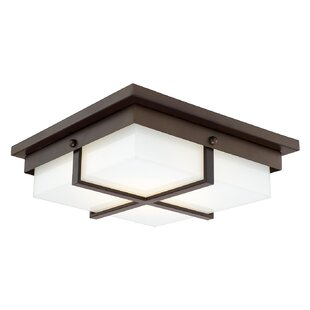 Latitude Run Sabrina Flush Mount