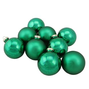 Glass Green Christmas Ornaments You Ll Love In 2019 Wayfair