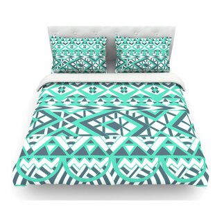 Tribal Simplicity by Pom Graphic Design Featherweight Duvet Cover