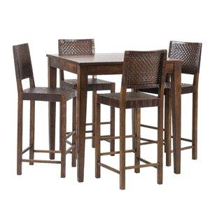 Gambino 5 Piece Pub Table Set Savings
