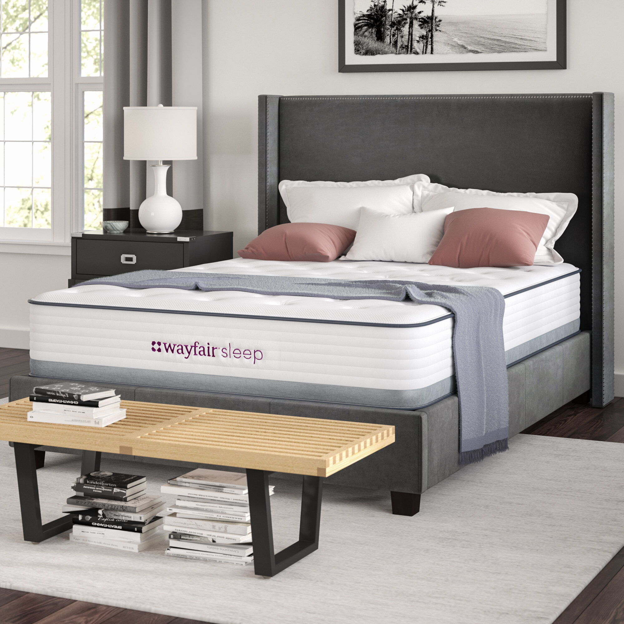 Wayfair Sleep 9 Plush Hybrid Mattress Reviews Wayfair