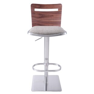 Danika Adjustable Height Swivel Bar Stool..