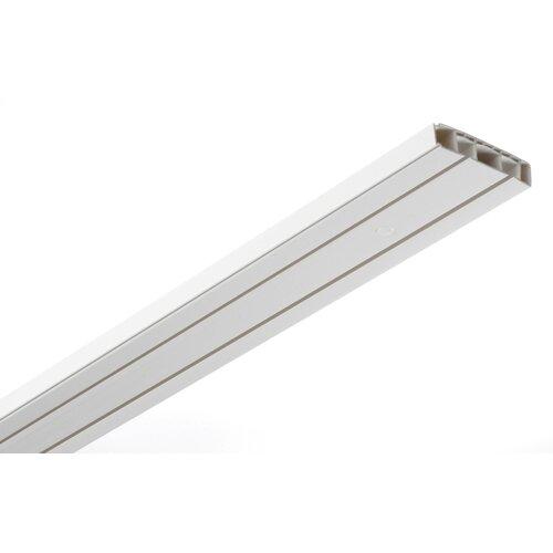 Gardinenschiene | Heimtextilien > Gardinen und Vorhänge > Gardinenstangen | Weiß | Kunststoff | Gardinia