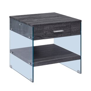Caylor End Table with Storage