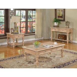 Shantoria 3 Piece Coffee Table Set