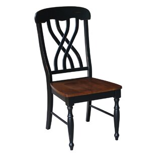 Anselme Solid Wood Dining Chair (Set of 2) by August Grove