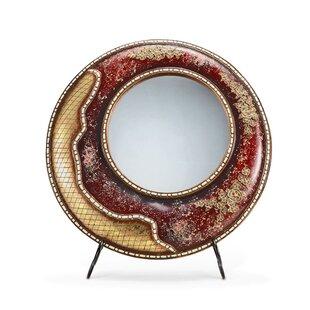 OK Lighting Crystal Stone Mirror