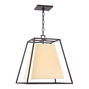 Latitude Run Casner 1-Light Square/Rectangle Pendant