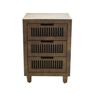Langley Street Amara 3 Drawer Accent Cabinet