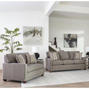 Compare prices Nedra 2 Piece Sleeper Living Room Set by Brayden Studio Reviews (2019) & Buyer's Guide