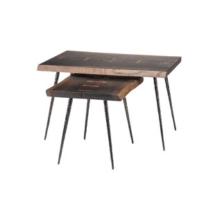Affordable Nexa 2 Piece Nesting Tables by Nuevo