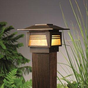 Zen Garden 1-Light Fence Post Cap