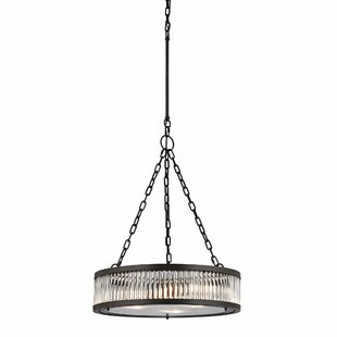 Mercer41 Goff 3-Light Drum Chandelier