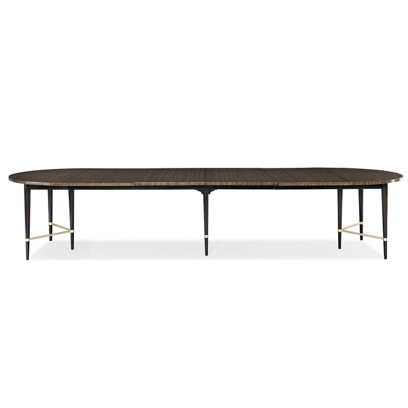 Caracole Classics Long and Short of It Extendable Dining Table