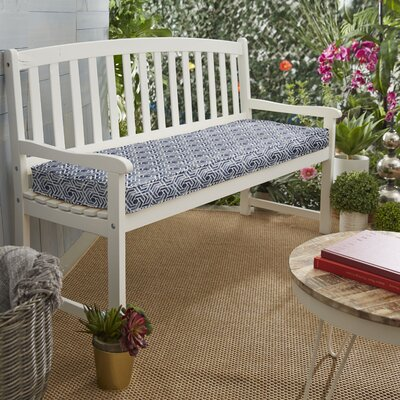 Awesome Wrought Studio Indooroutdoor Bench Cushion Size 3 Inch H X Bralicious Painted Fabric Chair Ideas Braliciousco