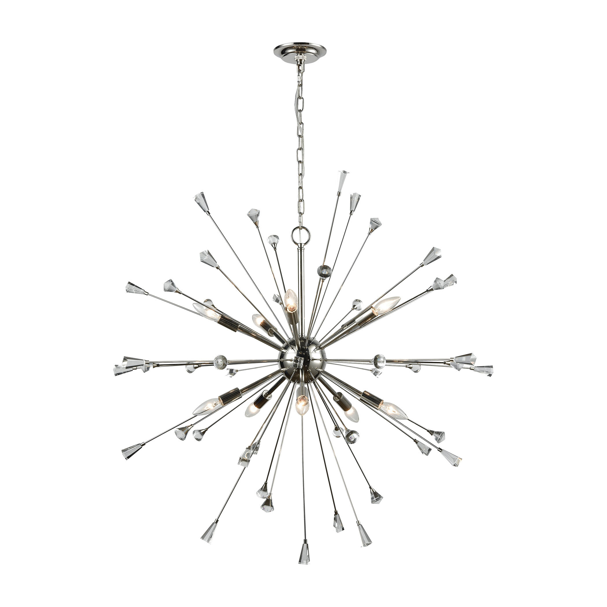 Kasey 10 Light Sputnik Chandelier & Reviews