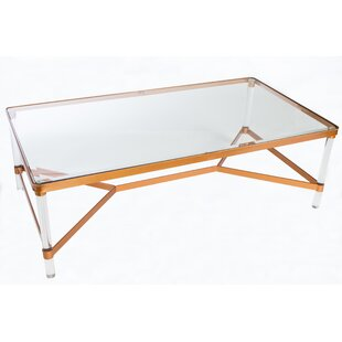 Look for Mireille Acrylic Coffee Table By Statements by J