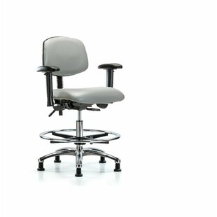 Aliya Drafting Chair by Symple Stuff Coupon
