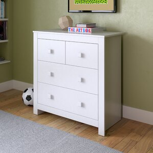 Deion 4 Drawer Dresser by Viv + Rae