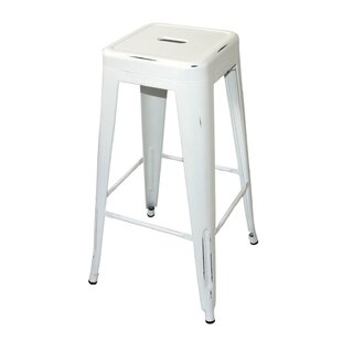 Alannah Distressed 77cm Bar Stool By Williston Forge