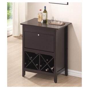 Lucrezia Dry Bar with Wine Storage by Andover Mills