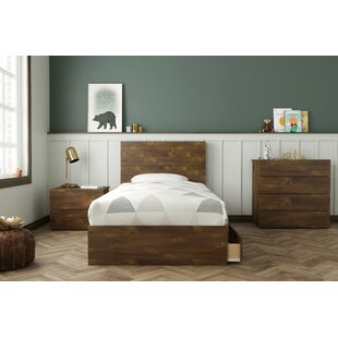 Grantham Twin Platform 4 Piece Bedroom Set