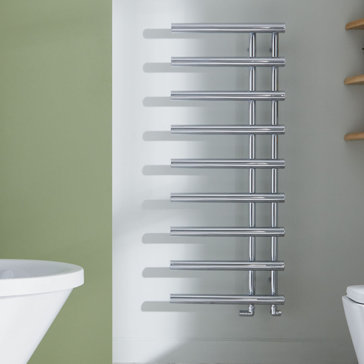 Belfry Heating Mayfair Wall-Mounted Heated Towel Rail | Wayfair.co.uk