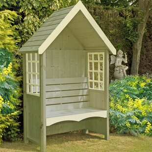 Free Shipping Wooden Arbour