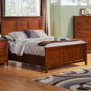 Seger Panel Bed by DarHome Co Herry Up