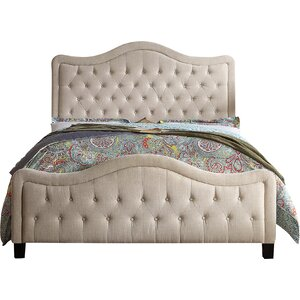 Turin Queen Upholstered Panel Bed