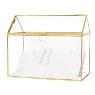 Glass Wedding Card Boxes Wayfair