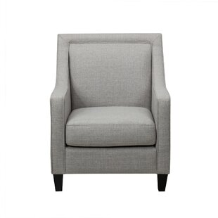 Charlton Home Cobham Upholstery Armchair with Piping