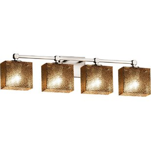 Affordable Price Luzerne 4-Light Vanity Light By Brayden Studio
