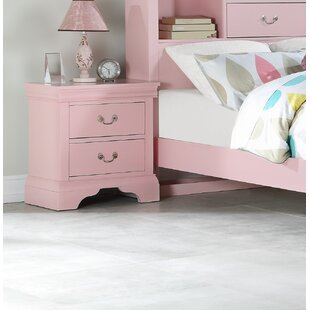 Clearance Cinda 2 Drawer Nightstand by Darby Home Co