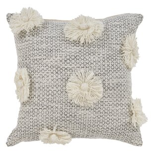 Claudette Cotton Throw Pillow
