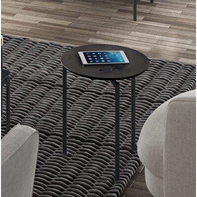 BDI Radius Round End Table  Color: Ferrous Ceramic