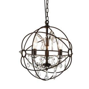 Margo 3-Light Globe Chande..