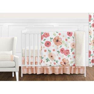 Buy clear Watercolor Floral 11 Piece Crib Bedding Set BySweet Jojo Designs