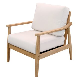 Alta Teak Patio Chair with Sunbrella Cushions