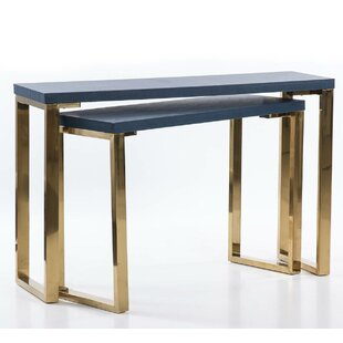 Bannock 2 Piece Console Table Set By Canora Grey