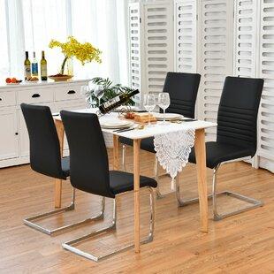 Hebron Upholstered Dining Chair by Orren Ellis