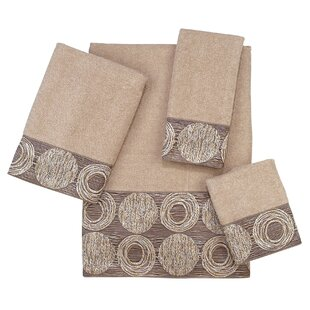 Galaxy 4 Piece 100% Cotton Towel Set