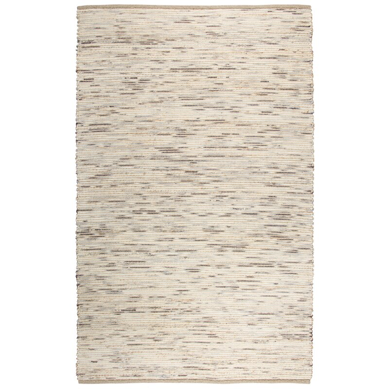 Highland Dunes Holler Abstract Hand Woven Wool Beige Area Rug Wayfair