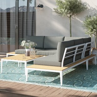 Kirch 5 Seater Corner Sofa Set By Sol 72 Outdoor