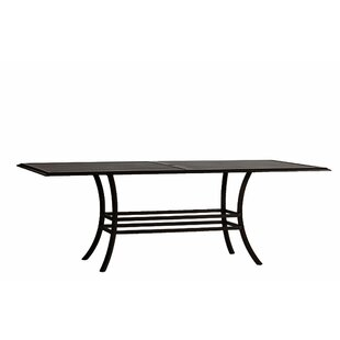 Cort Rectangular Metal Dining Table