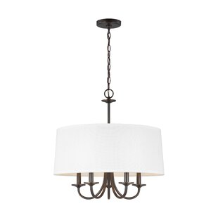 Winston Porter Jaylene 5-Light Drum Chandelier