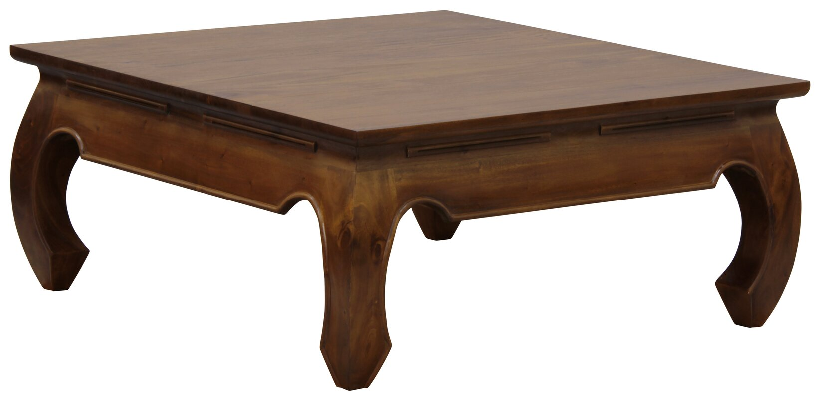 NES Furniture Fine Handcrafted Solid Mahogany Wood Opium Coffee