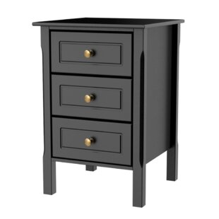 Trask 3 Drawer Nightstand
