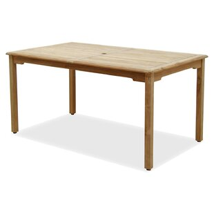 Rosecliff Heights Bridgepointe Teak Dining Table